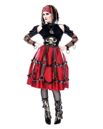 Steampunk Piraten Maid Kostüm S
