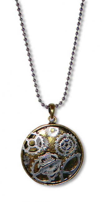 Steampunk Necklace Clockwork
