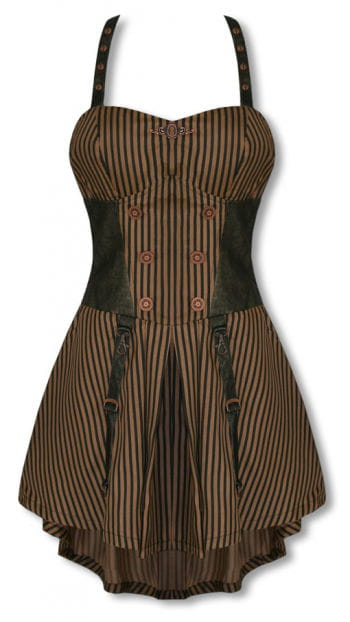 Steampunk dress knee length