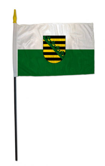 Stock flag state of Saxony