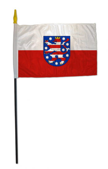 Stockflagge Bundesland Thüringen