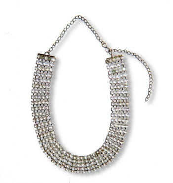 Strass Collier $ one million