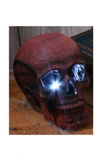 Strobe Light Skull Red