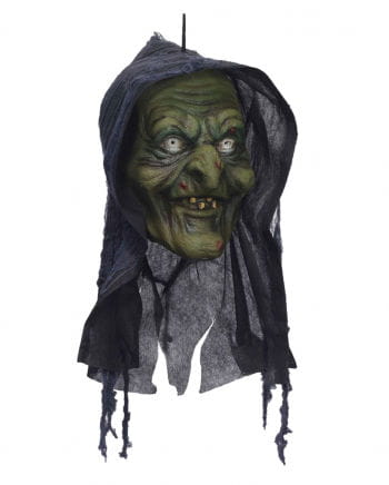 Swamp Witch Head Halloween Decoration