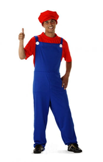 Super plumber Deluxe Costume