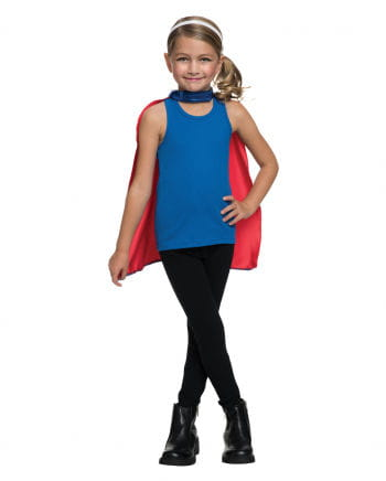 Supergirl Maske & Cape Set