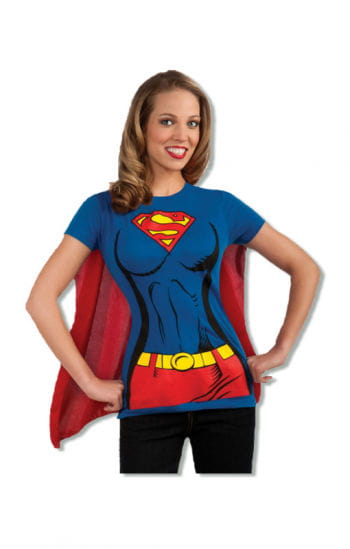 Supergirl T-Shirt mit Cape
