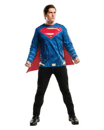 Superman shirt Cape adult