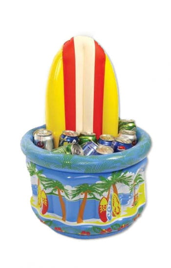 Surfboard drink coolers