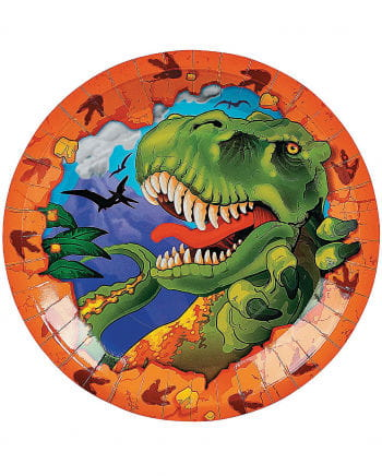 T-Rex paper plates
