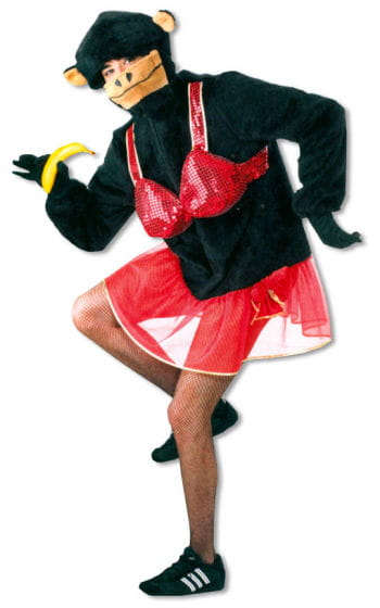 Monkey Dancer Costume XXXL