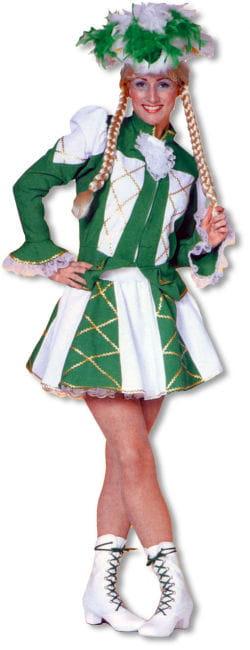 Carnival Dancing Girl Costume Green