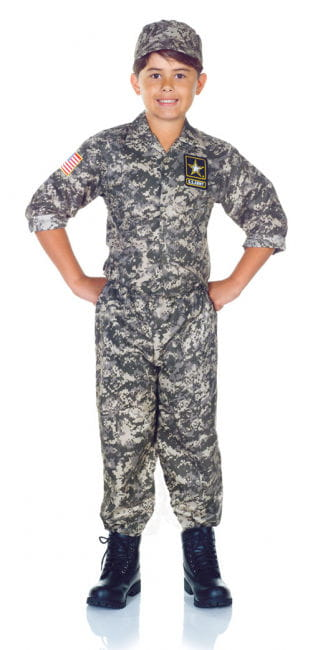 U.S. Army Camo Child Costume