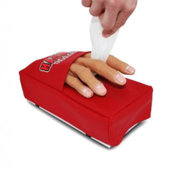 Ghost Hand Tissue Dispenser
