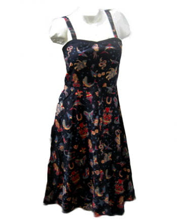 Tattoo Dress Blk Gr M