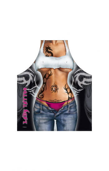 Tattoo Girl Apron