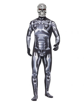 Terminator endoskeleton Men Costume