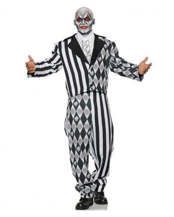 Evil Harlequin Costume black-white
