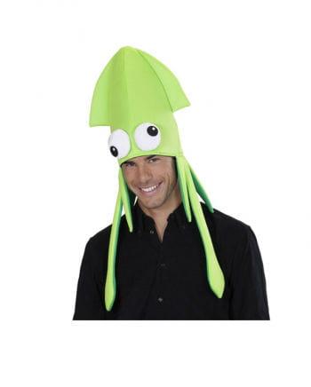 Squid hat green