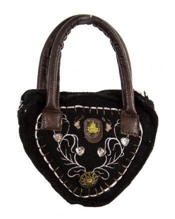 Tiroler ladies bag Deluxe black