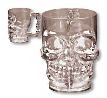 Skull Mug Grey