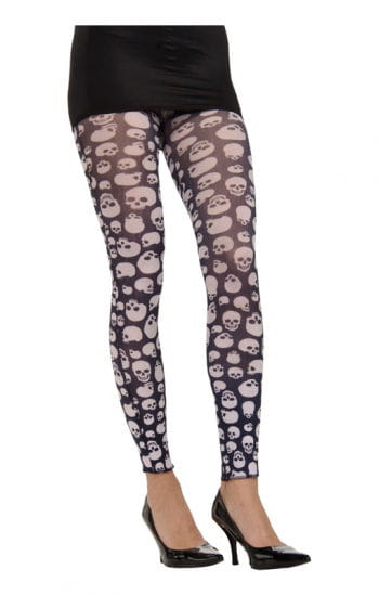 Skull Kids Leggings black / white