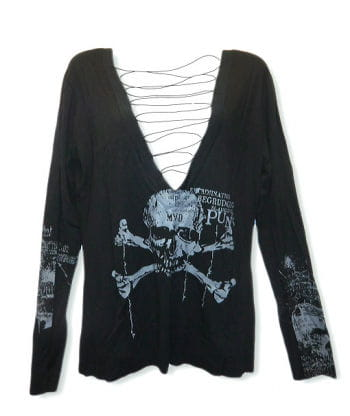 Skull Long Sleeve Shirt GL