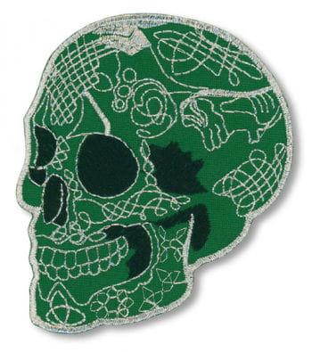 Green Skull iron-