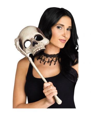 Totenschädel Stabmaske
