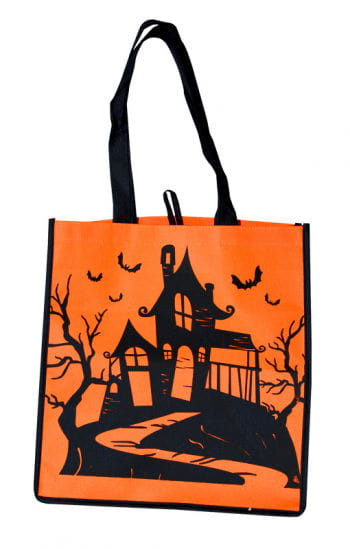 Trick or Treat Fabric Bag Witch House