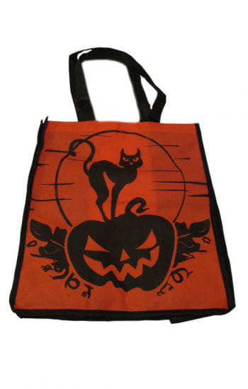 Trick or Treat Bag Cat / Pumpkin