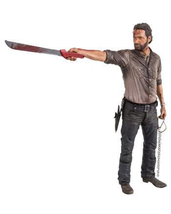 TWD Rick Grimes Action Figure Deluxe 25cm