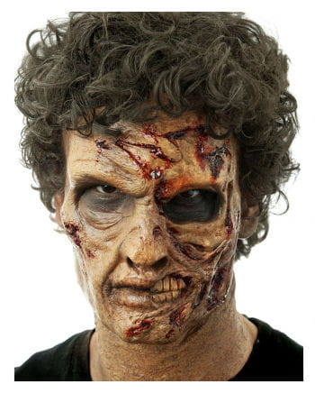 Two-Face Zombie Foam Latex Mask