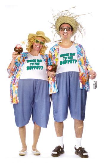 Typischer Tourist Kostüm