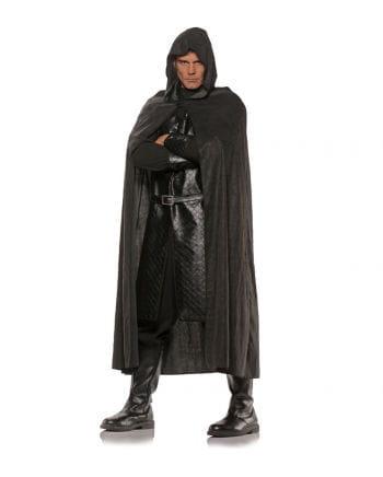 Cloak in suede-look Black