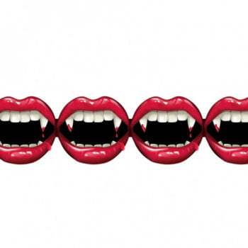 Vampire Mouth Garland
