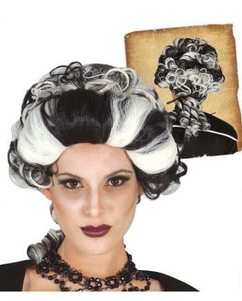 Vampire Countess wig bicolor