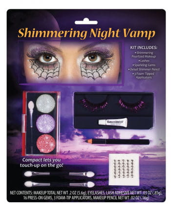 Vampire Bride Makeup Set