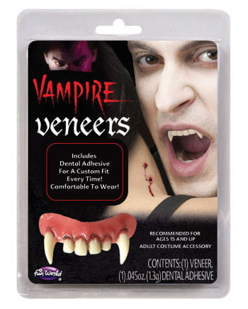 Combat vampire teeth for insertion
