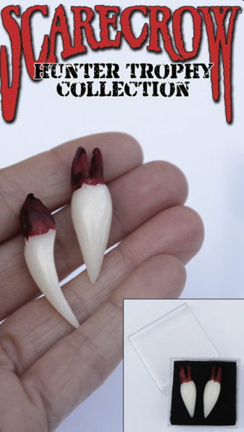 Vampire hunter trophies teeth