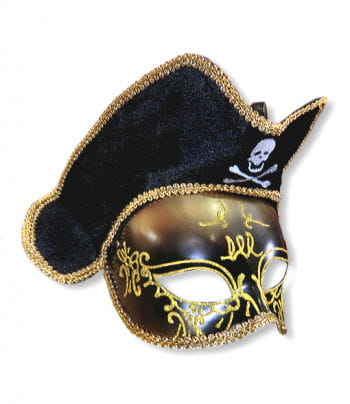 Venezia Piraten Maske gold