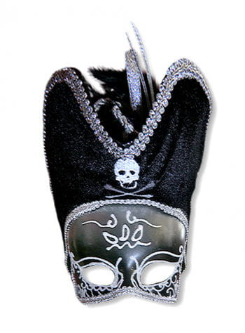 Venezia pirate mask silver