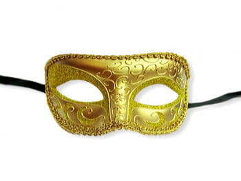 Venetian eye mask gold