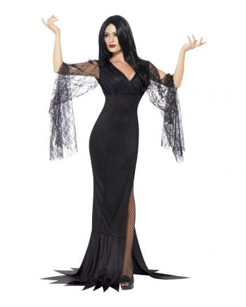 Seductive Morticia dress