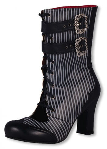 Victorian Boots black-gray with buckles