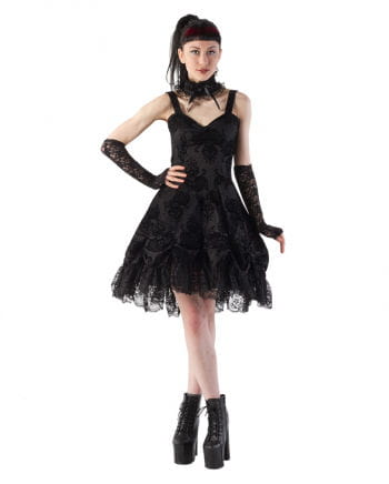 Gothic Trägerkleid Kiara