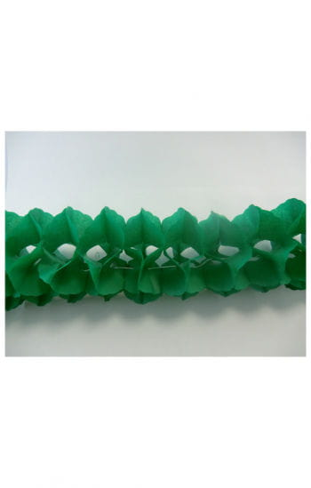 Honeycomb garland green