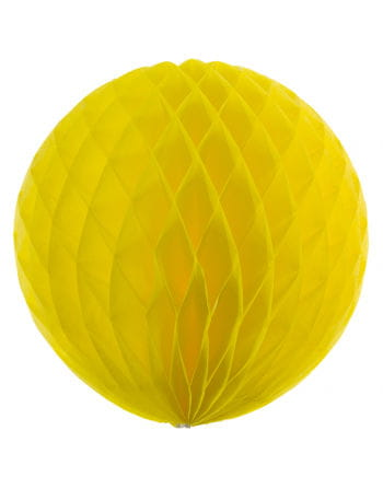 Honeycomb ball yellow 50cm