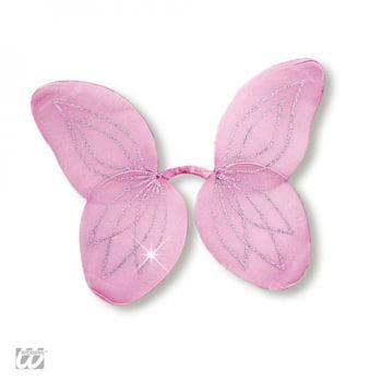 Waldfeen Flügel für Kinder rosa