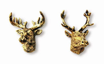 Deer Head Wall Decoration 2 PCS
